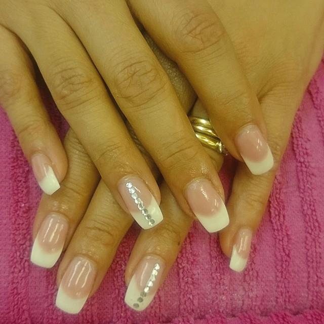 strass stenar till naglar
